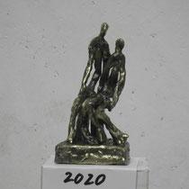 Alfred Seidel, kleine Bronzeplastik 2, Größe  10cm,  210 €