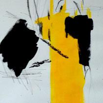 Michael Ziegler, www.michael-ziegler-eg.de, Acryl und Kohle auf Strukturpapier, 40x50cm, gerahmt, 120,-€ (Betrag wird Glasbau e.V. gespendet)