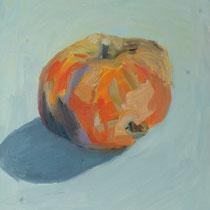 Franziska Lankes, Apfel, Öl auf Malplatte, 24x30cm, 150,-€