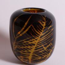 Hans Wudy, Vase, Graaltechnik, Höhe 14cm, Unikat, 240€