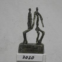 Alfred Seidel, kleine Bronzeplastik 1, Größe 12cm,  210 €