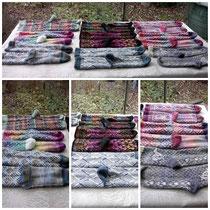 Socken, Amely, Strickwaren mit kunstvollen Mustern, Socken (Größe ca. 38-40) 39€, moonstray@web.de