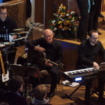 Die Band - Percussion / Gitarre / Keyboard ... klasse