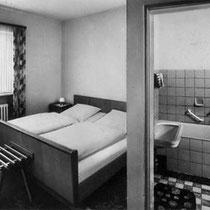 Hotel Grader: So sahen unsere Zimmer 1950 aus