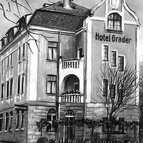 Das Hotel Grader in Neustadt a. d. Waldnaab im Jahr 1905