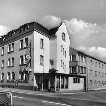 Das Hotel Grader im Jahr 1950
