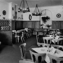 Hotel Grader: Die Gaststube 1950