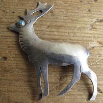 """2429 Navajo Pin Marked UITA21 c.1950-60 2x2.5"""" $250"""