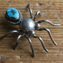 "4870 Navajo bug pin c.1960 1.4x1.1x.4"" $150"