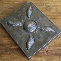 """4456 Navajo Cigarette Box c.1930-50 2.75x3.25"""" $1200"""