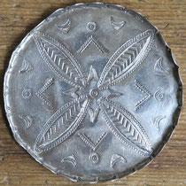 """4148 Navajo Coaster/Tray c.1930-50 3"""" $195"""