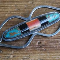 "4301 Zuni Bar Pin c.1930 1.25x3.5"" $450"