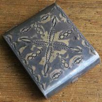 """4430 Navajo Cigarette Box c.1930-50 2.5x3.5"""" $650"""