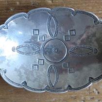 """5237 Navajo Ash Tray c.1940 3.375x1.75"""" $150"""