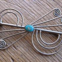 """1538a Navajo pin c.1960 2.5"""" $65"""