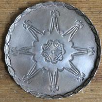 """1375b Navajo Coaster/Tray c.1930-50 3"""" $250"""