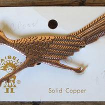 "4837 Navajo Copper Roadrunner Pin/Maisel's Trading Post 3"" $65"