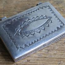 5414 Navajo Pill Box c.1940-60 1.75x1.375x.375 $250