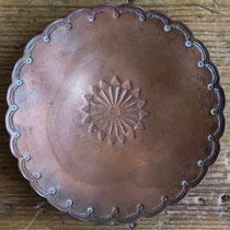 """4276 Navajo Tray w/bullet casing feet c.1930 3"""" $150"""
