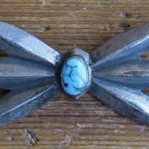 "4527 Navajo sandcast bar pin 1.25x2.75"" $250"
