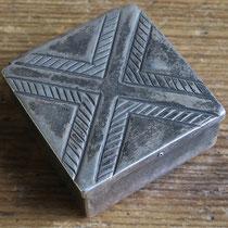 """Navajo Pill Box c.1950 1.5x1.375x.5"""" $250"""