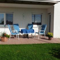 Terrasse im Garten - Enspannung wie in einem Ferienhaus!