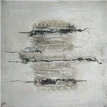Würfel WEISS H-B-T 20 x 20 cm, in tiefem Buche-Schattenfugenrahmen
