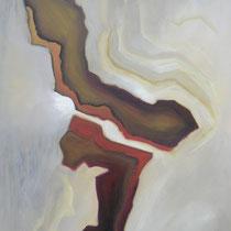 von...einander (110 x 140 x 4 cm)