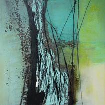 o. Titel H-B-T: 80 x 80 x 4 cm / ART Lokal Windeck Schladen