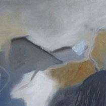 Nordland (H-B-T 32 x 62 x 3, gerahmt im ecru-farbenen Schattenfugenrahmen)