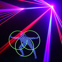 Lasershow in Sachsen-Anhalt - Fantômes de Flammes
