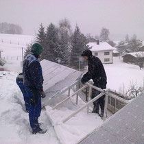 alkaSOL / EST project: PV installation in German winter