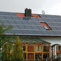 alkaSOL / EST project: PV-unit ob private house in Plattling