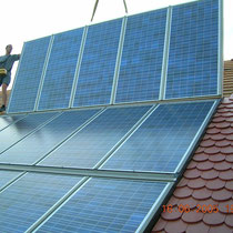 alkaSOL / EST project: indegrated PV- modules - Winzer RWG building