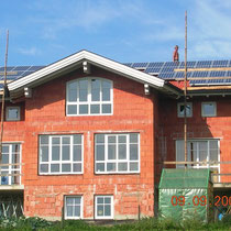 alkaSOL / EST project: new building with PV in Thurnau, Passau