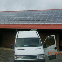 alkaSOL / EST project: PV-unit installed in 2003 in near Dingolfing