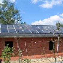 alkaSOL / EST project: integrated photovoltaic modules - Hengersberg 2002