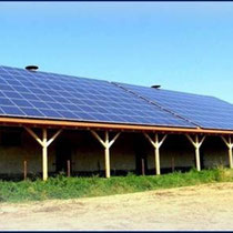 alkaSOL / EST project: solar power production on warehouse in Geiselhöring