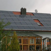 alkaSOL / EST project: PV on privat house in Arnstorf