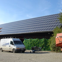 alkaSOL / EST project: Sharp photovoltaic installation in Ganaker, Germany