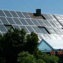 alkaSOL / EST project: Solar roof, installed by EST Energietechnik in Bavaria