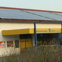 alkaSOL / EST project: Kaneka thin-film & Sanyo HIT modules on Edeka market in Aiterhofen
