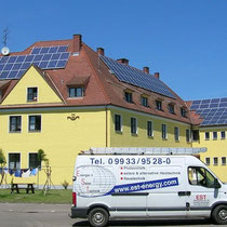 alkaSOL / EST project: alkaSOL modules on photovoltaic installation in Bayern, Germany