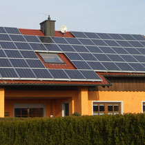alkaSOL / EST project: Sharp photovoltaic  -  Fellinger, Pilsting