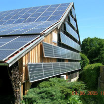 alkaSOL / EST project: special photovoltaic-project in Wallkofen 2001