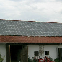 alkaSOL / EST project: photovoltaic modules on store