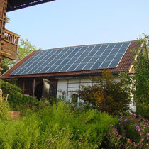 alkaSOL / EST project:  Bauer -Sharo photovoltaic modules on privat house