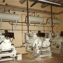 alkaSOL project: alka - hybrid systems with 3 Diesel generators for  Nitel  - Nigeria 1983