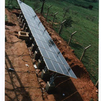 alkaSOL project:  1998  -  UPS - uninteruptable power supply for NITEL in Asab Hausa