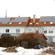 alkaSOL / EST project: Siemens PV-units on privat houses
